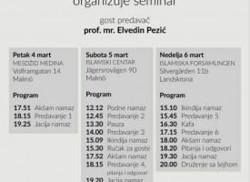 Seminar u Malmeu i Landskroni