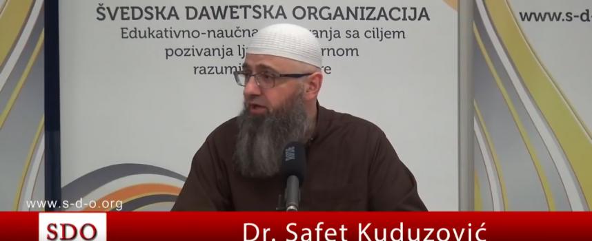 Šejtansko uznemiravanje – Dr Safet Kuduzović