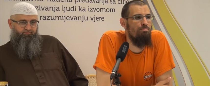 Ašare i informacija o poklon Hadždžu, Hfz Fuad Seferagić i Tarik Agić
