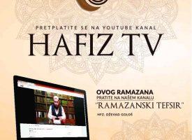 Ramazanski tefsir, 9 dio – Hfz Dževad Gološ
