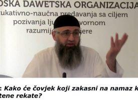 Pitanje i odgovor: Naklanjavanje propuštenih rekata u džematu – Dr Safet Kuduzović