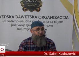 Dr Safet Kuduzović – Može li žena ići na hadždž bez mahrema