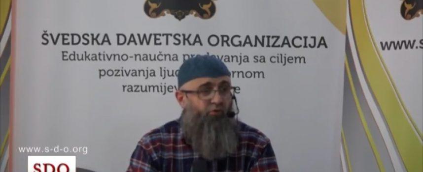 Tri su stvari koje uništavaju vjeru, dr. Safet Kuduzović