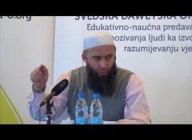 Prof Hajrudin Ahmetovic, Abdullah ibn Maktum