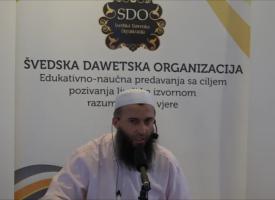 Prof. Hajrudin Ahmetović, razlika između ponosa i oholosti