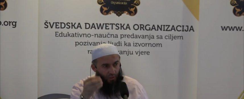 Prof. Hajrudin Ahmetović, traženje znanja iz Kur´ana i sunneta