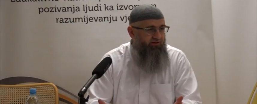 Dr Safet Kuduzovic, ulazak udovice u dzennet bez polaganja racuna