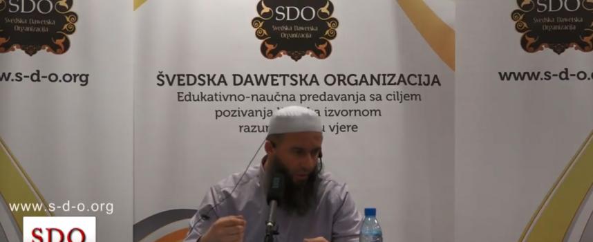 Prof. Hajrudin Ahmetović, koje nagrade očekuju sljedbenike Kur´ana i sunneta.