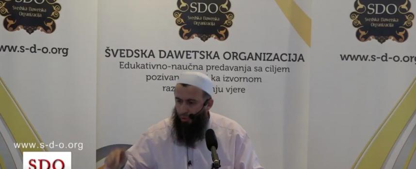 Prof. Hajrudin Ahmetović, lijepo ponašanje prema svim ljudima
