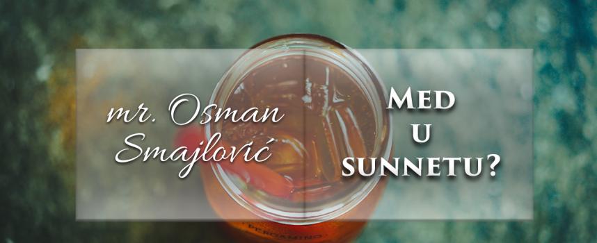 Med u sunnetu? | mr. Osman Smajlović ᴴᴰ┇