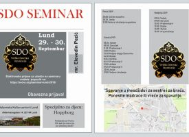 Plan i program seminara u Lundu