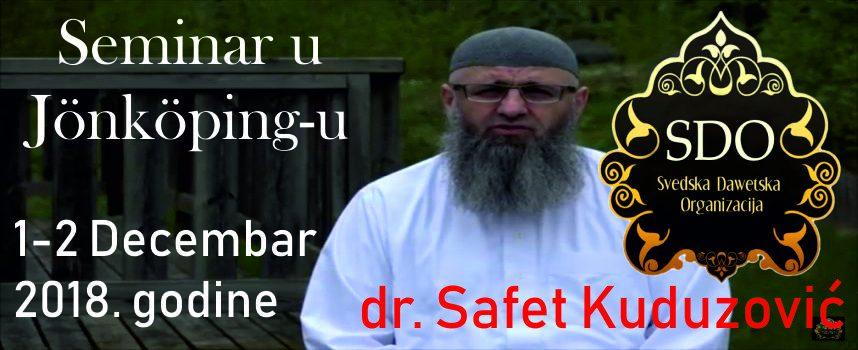 Koji Allahov poslanik je najbolji_dr. Safet Kuduzović