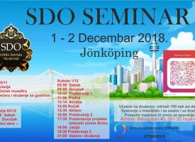 Plan i program za seminar u Jönköping-u