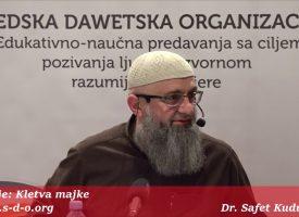Njih dvojica nisu isti_dr. Safet Kuduzović