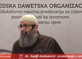 Malo je radio, a puno je dobio_dr. Safet Kuduzović