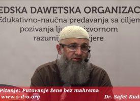 Čovjek biva pohvaljen onim što čini_dr. Safet Kuduzović