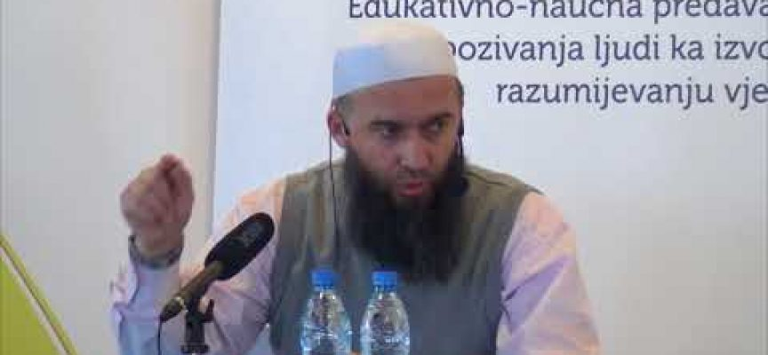 Moral Allahovih poslanika 3 – mr. Hajrudin Ahmetović