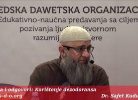 Da li žene smiju koristiti dezodorans? – dr. Safet Kuduzović