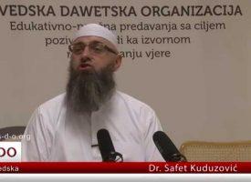 Žena i novac i ženidba sa Aišom? – dr. Safet Kuduzović