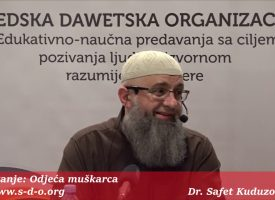 Odjeća muškarca? – dr. Safet Kuduzović