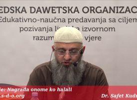 Nagrada onome ko halali (oprosti)! – dr. Safet Kuduzović