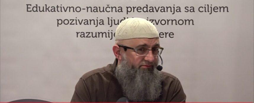 Da li čovjek ima svoju volju ili ne (vjerovanje u kader)_dr. Safet Kuduzović