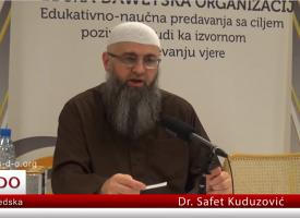 """Hadis o mjesecu Redžepu i nadjevanje imena """"Seni""""? – dr. Safet Kuduzović"""