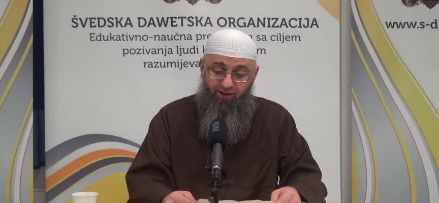 Klanjanje sjedeći (Smiješno) – dr. Safet Kuduzović