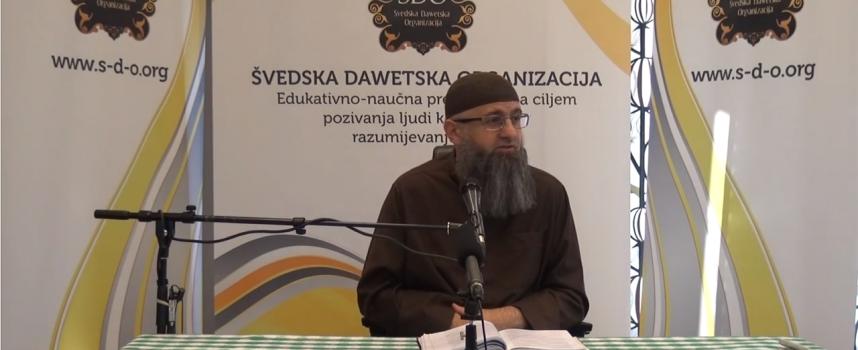 Kakva je razlika među poslanicima, alejhim selam_dr. Safet Kuduzović