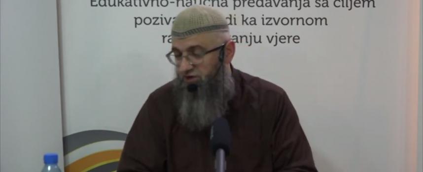 Trud današnjih muslimana mora biti daleko veći_dr. Safet Kuduzović