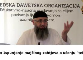 Šerijatska, a ne emotivna ljubav_dr. Safet Kuduzović