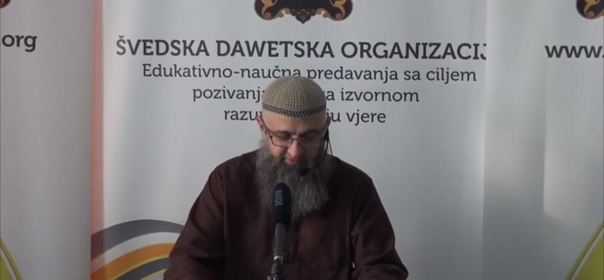 Šta je to zavjet? – dr. Safet Kuduzović