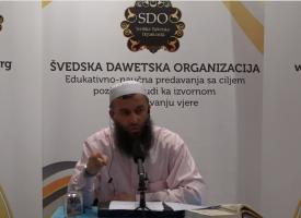 Ambicijama do šerijatskog znanja! – mr. Hajrudin Ahmetović