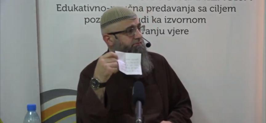 Dijete i predvođenje namaza i zvanja muža po imenu? – dr. Safet Kuduzović