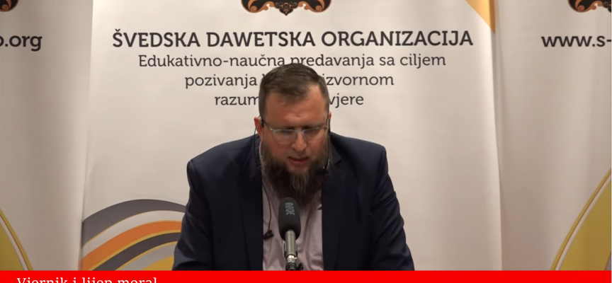 Vjernik i lijep moral! – mr. Adnan Mrkonjić