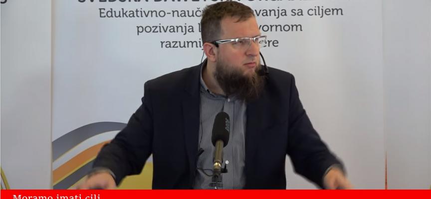 Moramo imati cilj! – mr. Adnan Mrkonjić