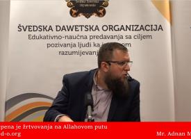 Šest stepena žrtvovanja! – mr. Adnan Mrkonjić