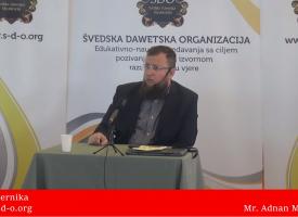 Iman vjernika! – mr. Adnan Mrkonjić