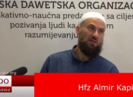 Zadah postača… – hfz. Almir Kapić