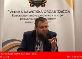 Mi smo narod koji samo na žalost ide… – mr. Adnan Mrkonjić