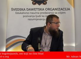Oni koji blud ne čine… – mr. Adnan Mrkonjić