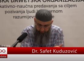 Pitanje u vezi pozajmice… – dr. Safet Kuduzović