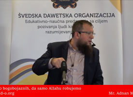 Da samo robujemo Allahu! – mr. Adnan Mrkonjić