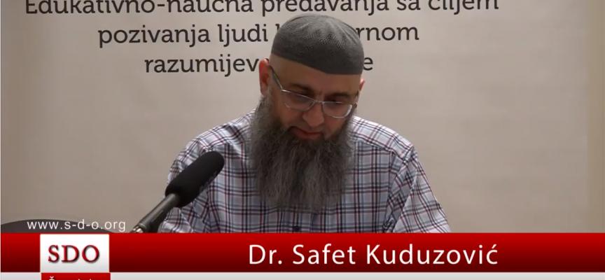 Da li je dozvoljeno ženi biti sa djedom od muža bez mahrema? – dr. Safet Kuduzović