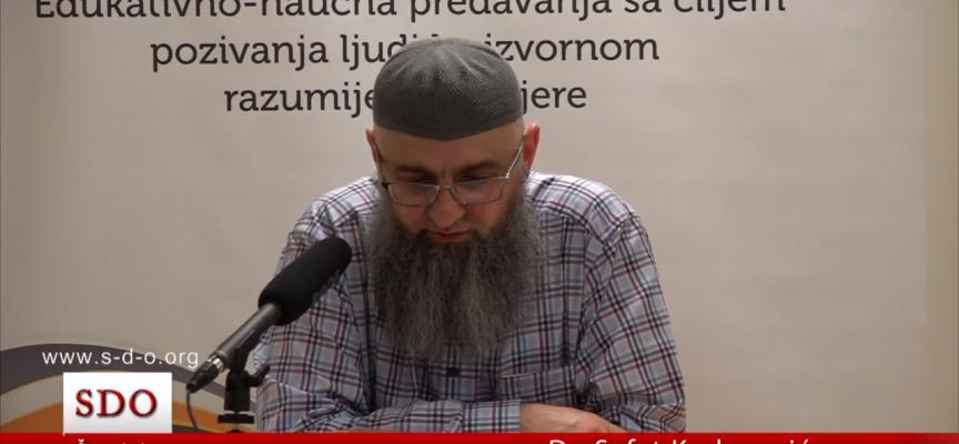 O ajetu 'Otkud Njemu djete, a nema supruge?' – dr. Safet Kuduzović