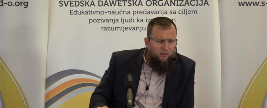 Javna sadaka i nijjet! – mr. Adnan Mrkonjić