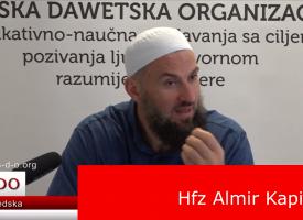 Svake noći Allah oslobodi jednu skupinu postača Džehennema! – hfz. Almir Kapić