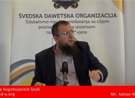 Svojstva bogobojaznih ljudi… – mr. Adnan Mrkonjić
