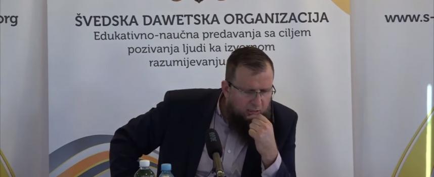 Je li vi samo sabah klanjate? – mr. Adnan Mrkonjić
