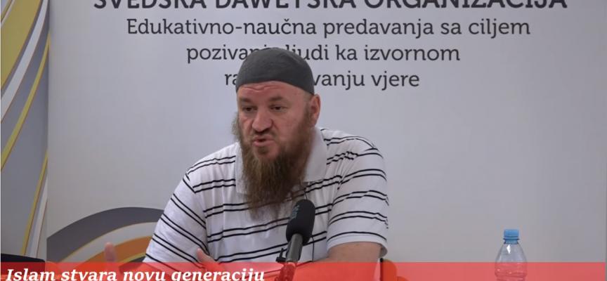 Islam stvara novu generaciju! – mr. Osman Smajlović